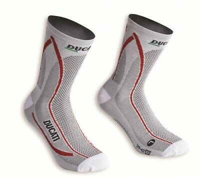 Ducati Original SOCKEN COOL DOWN atmungsaktiv Coolmax® isolierend