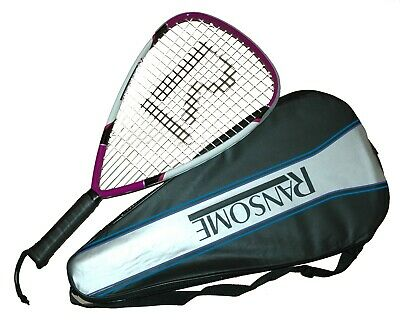 Ransome R1 Power Racketball Racket with Full Cover
