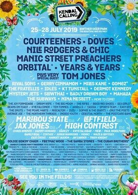 2 Kids Kendal Calling Tickets Including Thursday