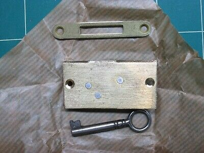 NEW OLD STOCK Cabinet/door/Drawer  Lock with Skeleton Key -  Hardware
