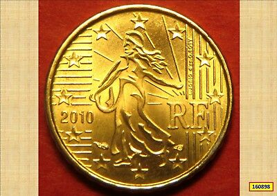 2010 French Euro 10 Cents Ef  160898...*