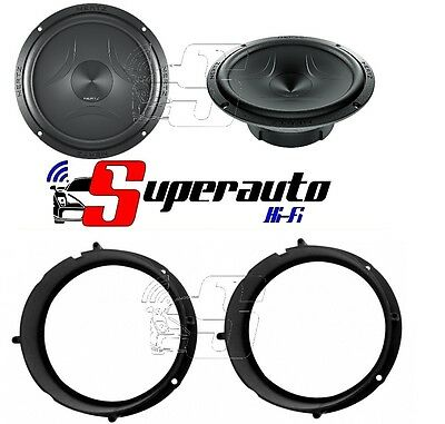 Hertz EV F 165 evf165 coppia woofer + supporti casse altoparlanti VOLKSWAGEN UP