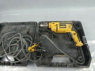 Dewalt DWD024 Corded 230V Drill 650w Used Condition With Case Missing Handle