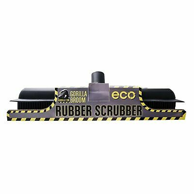 Gorilla Eco Rubber Scrubber, windows, cars, carpets, floors, patio and decking