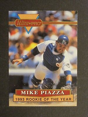 1994 Rembrandt Ultra Pro Mike Piazza La Dodgers Roy Card