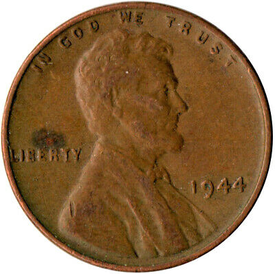 United States / 1944 Wheat Penny / One Cent / Lincoln / Collectible  #Wt3575