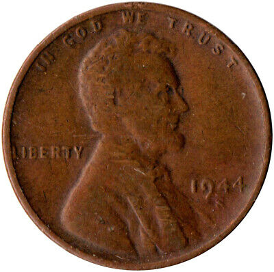United States / 1944 S Wheat Penny / One Cent / Lincoln / Collectible  #Wt3576