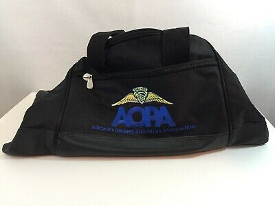 AOPA Aircraft Owners And Pilots Association Duffel Bag