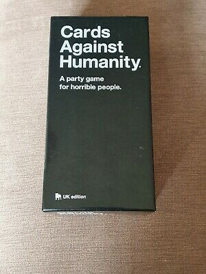 Cards Against Humanity Fourth Expansion, UK Edition, played once, excellent con.