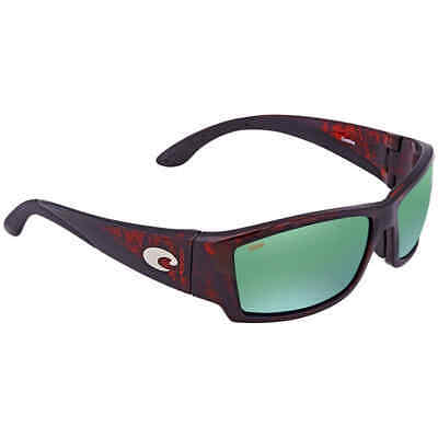 a765cf2d4f12 Costa Del Mar Corbina Global Fit Green Mirror 580P Polarized Wrap Men's