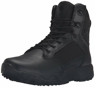 Under Armour Men's Stellar Military and Tactical Boot, Black/Black, Size 14.0 0y