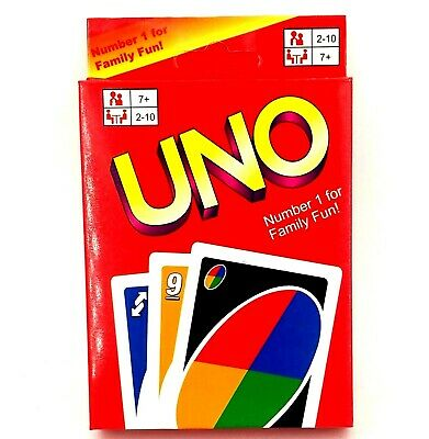 UNO Classic Playing Cards Game Family Fun Game 108 Playing Card Family Fun