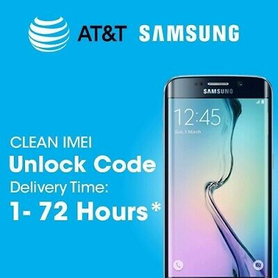 AT&T IMEI Unlock Service Code Samsung Galaxy Note 9 Note9 Note8 Note5 8 5 4 3 2