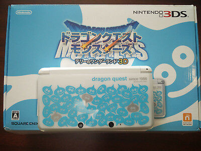 3DS Dragon Quest Wonderland Special pack of Monsters Terry limited JAPAN