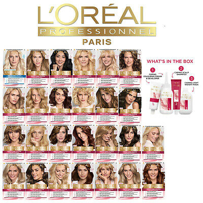 2 x L'OREAL Excellence Creme Hair Dye Colour Different Shades (Pack of 2)