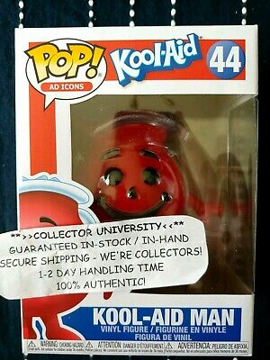 Funko Pop Kool Aid Man Kool-Aid Ad Icons Figure #44 New In Hand ** Mint **