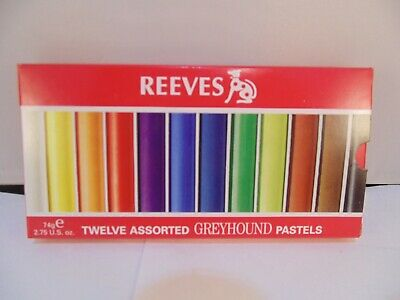 Reeves Greyhound Soft Pastels Set of 12 (From the SIXTY SET)