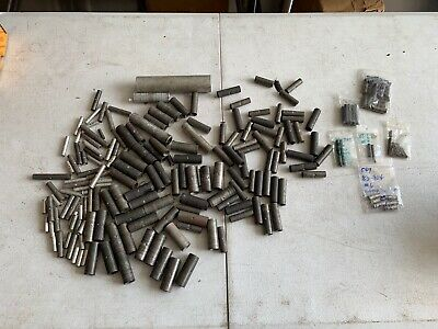 Huge Lot 100+? Compression Butt Splices Burndy Ideal and more!