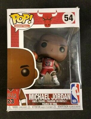 *DAMAGED BOX* Funko Pop NBA Bulls Michael Jordan #54 Vinyl Figure