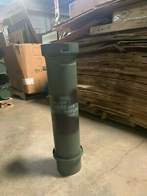 Military Surplus Ammo Tube Can Bury Guns Amo Rifle Money Valuables US Army