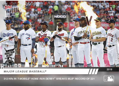Home Run Derby Record - MLB TOPPS NOW® Card 489