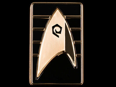 Star Trek Discovery QMx Magnetic Starfleet Division Cadet Badge NEW