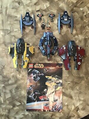Lego Star Wars 7283 Rots Ultimate Space Battle 100% Complete Free Shipping