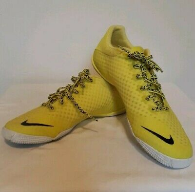 fbda491b66f5b RARE Nike 5 Elastico Finale II US size 8 Yellow athletic indoor Soccer Shoes