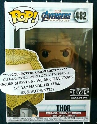 Funko Pop Thor Fye Exclusive Endgame Avengers Marvel Figure ** In Hand! **