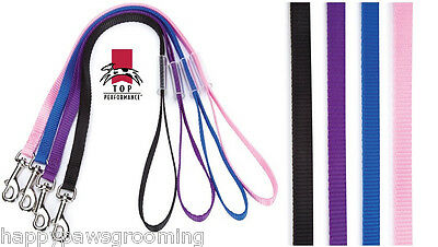 4 pack DOG PRO NYLON Pet Grooming LOOP RESTRAINT NOOSE for Table Arm Bath 18""