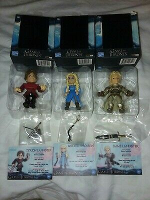 New In Box Wholesale Lot Of 3 Game Of Thrones Daenerys Jaime Tyrion Collectors