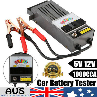 Digital Car Battery Analyzer 6V 12V 1000CCA Auto Charging System Load Tester