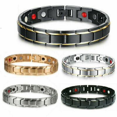Therapeutic Energy Healing Copper Magnetic Bracelet Therapy Arthritis Men Women