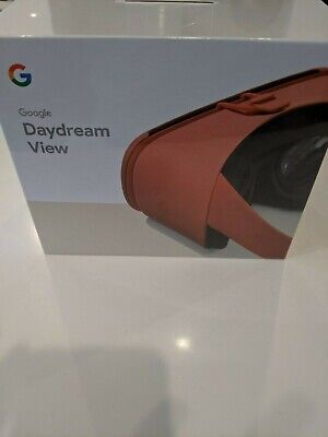 Google Daydream View VR Headset - Coral (Brand New in Box)