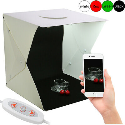 40CM Studio Light Box Portable Photography Cube Tent Photo LED Light Room Tent