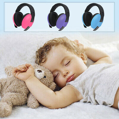 Baby Safety Ear Muffs Noise Cancelling Headphones For Kids Hearing Protect U7D4T