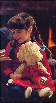 "Sewing Pattern S10141 13/"" Tall Best-Friend Rag Doll NOT FINISHED ITEM"