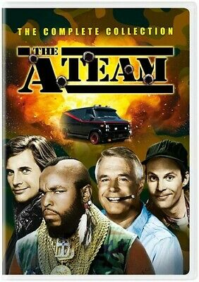 A-Team: Complete Collection - 25 DISC SET (2019, DVD NUOVO) (REGIONE 1)