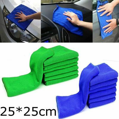 Microfiber Cleaning Auto Car Care Detailing Soft Cloths Wash Towel Duster NEW