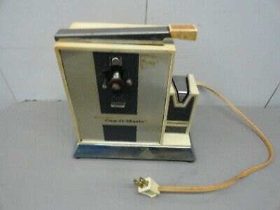 vintage rival can-o-matic with knife sharpener model # 765