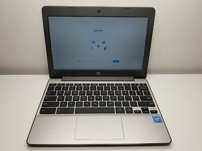 "HP Chromebook 11-v012nr 11.6"" Intel N3060 1.60GHz 4GB RAM 16GB SSD - Dark Gray"