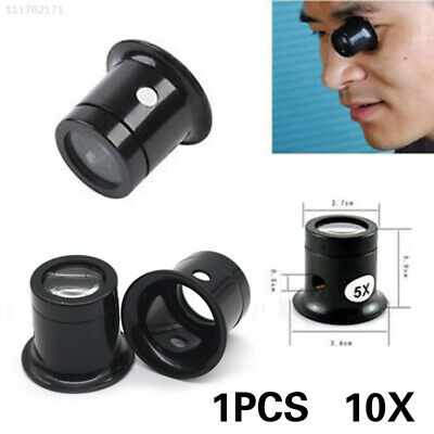 85DC Durable Loupe ABS Microscope Glass Mirror Jewelry Repair Magnifying Lens