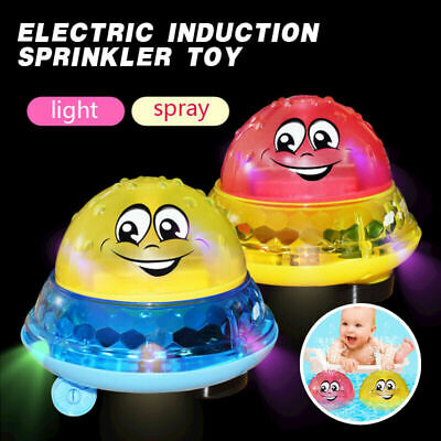 Funny Infant Electric Induction Water Spray Toy Children Baby Bath Shower Kid