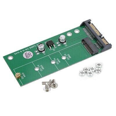 M2-NGFF SSD Solid State Drive to SATA3 Interface Conversion Riser Card Adapter G