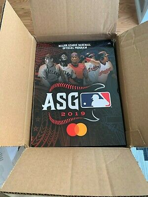 (3) 2019 MLB Official All-Star Game ASG Program Cleveland New/Unused FREE SHIP