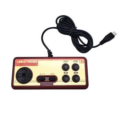 ABS Plastic, Video Game Handle FC280 Game Console Handheld for Double Player