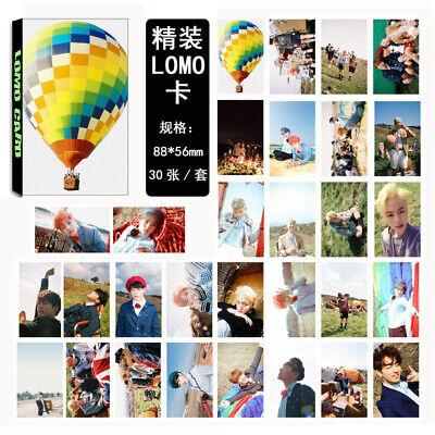30pcs set BTS Kpop Collective YOUNG FOREVER PhotoCard Picture Poster Lomo Cards