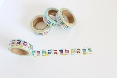 Coffee cup washi tape, Coffee washi tape, Cute Washi Tape, Planner accessories