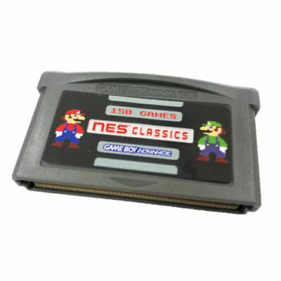NES 150 in 1 Games for Nintendo Game Boy Advance GBA SP NDS Mario SAVE STATES