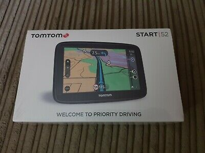 "Tomtom Start 52 Sat Nav 5"" Inch - new sealed - satellite navigation"